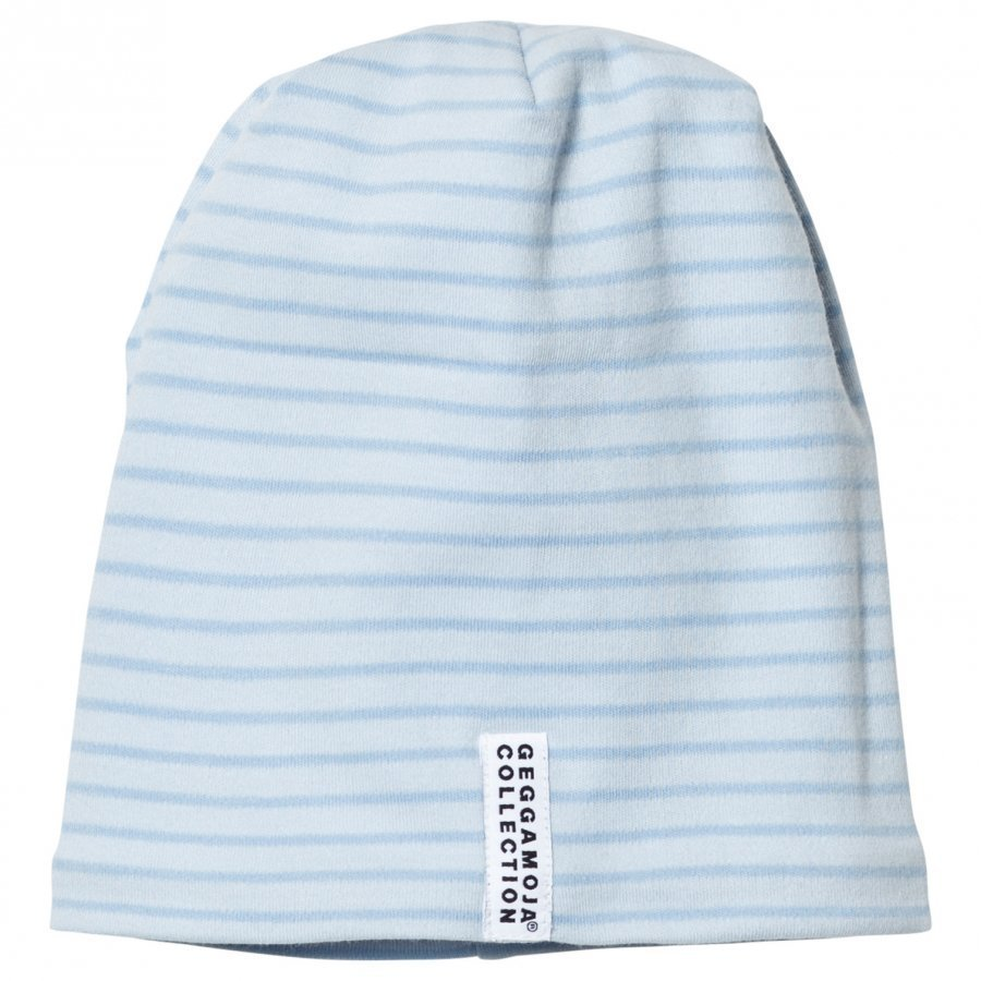 Geggamoja Topline Hat Soft Blue/Blue Pipo