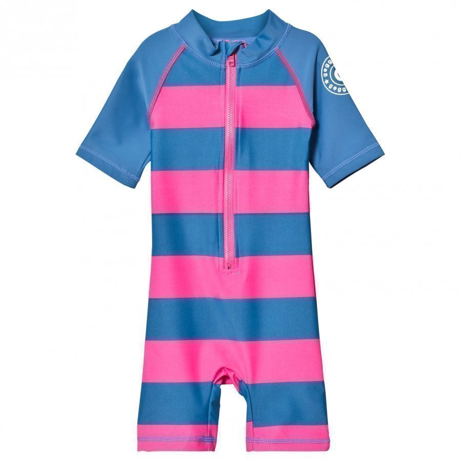 Geggamoja Uv-Suit Marine Pink Aurinkopuku