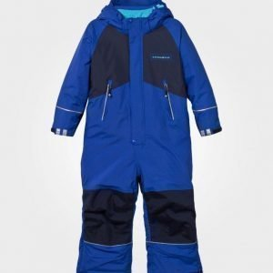 Geggamoja Winter Coverall Blue Toppahaalari