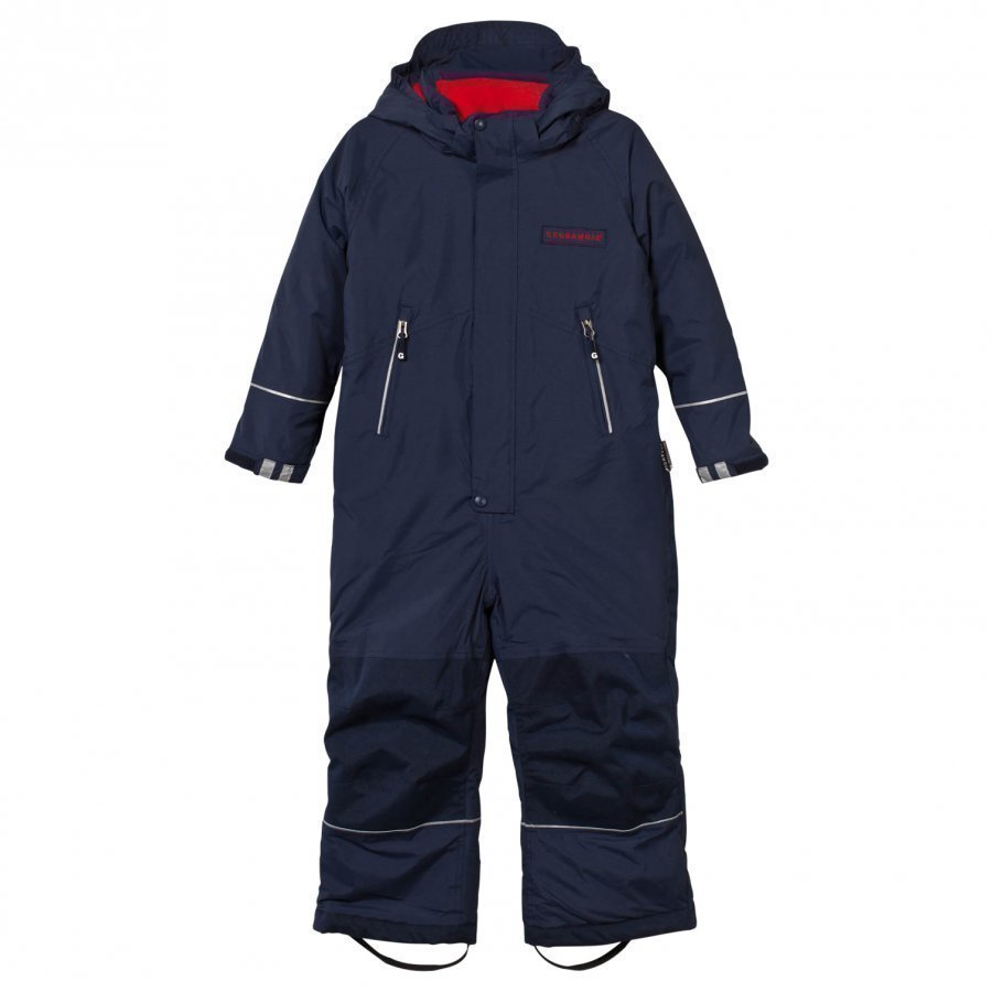 Geggamoja Winter Coverall Navy Toppahaalari