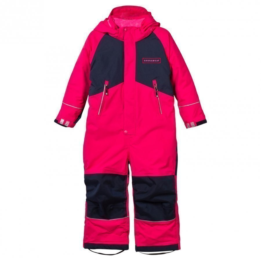 Geggamoja Winter Coverall Raspberry Toppahaalari