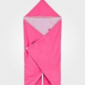 Geggamoja Wrap-Around Fleeceviltti Pinkki Huopa