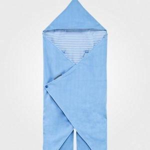 Geggamoja Wrap-Around Fleeceviltti Sininen Huopa