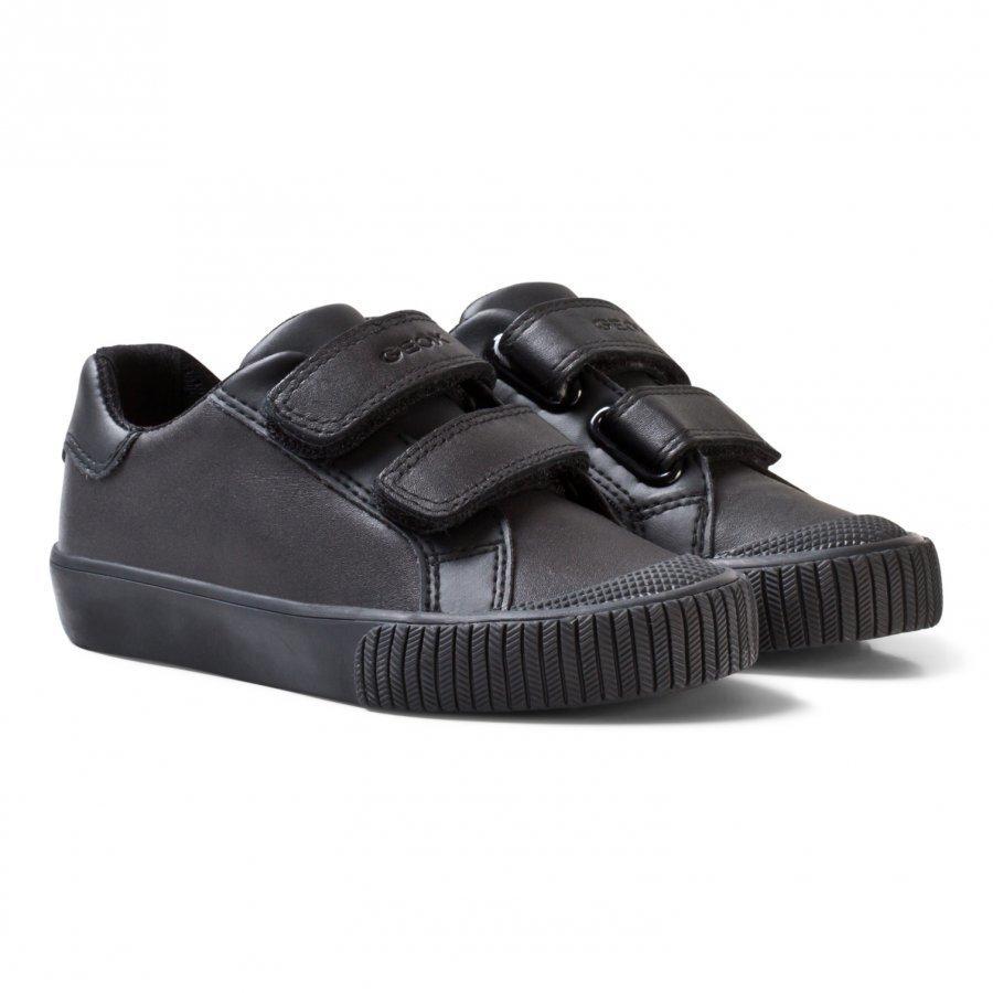 Geox Black Jr Kiwi Velcro Sneakers Lenkkarit