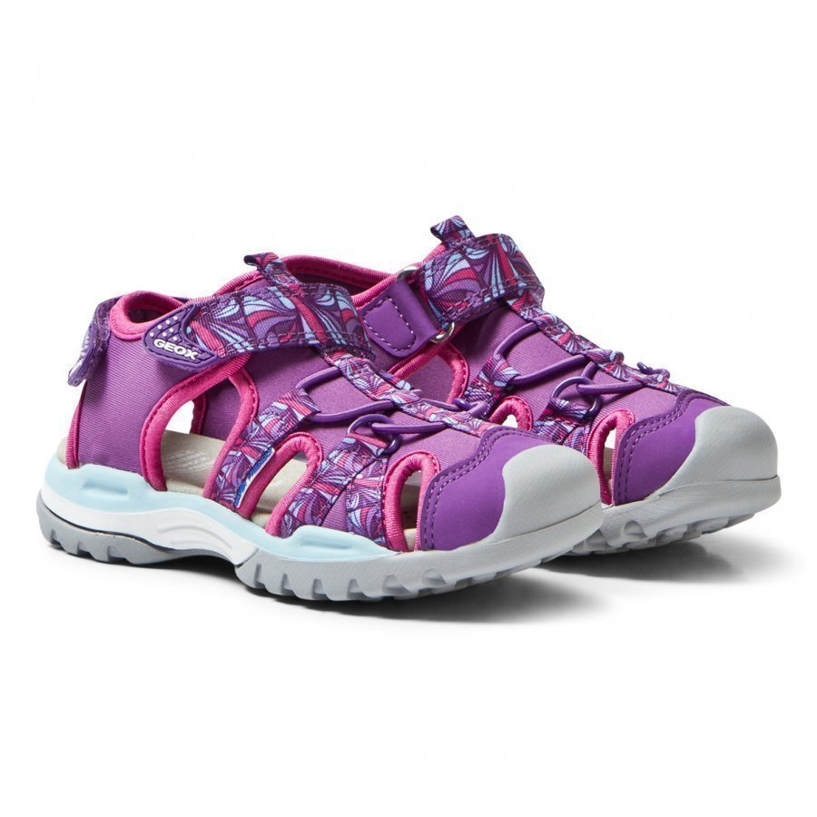 Geox Jr Borealis Water Friendly Sandals Purple Lenkkarit