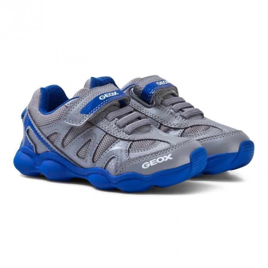 Geox Jr Munfrey Velcro Sneakers Grey Lenkkarit