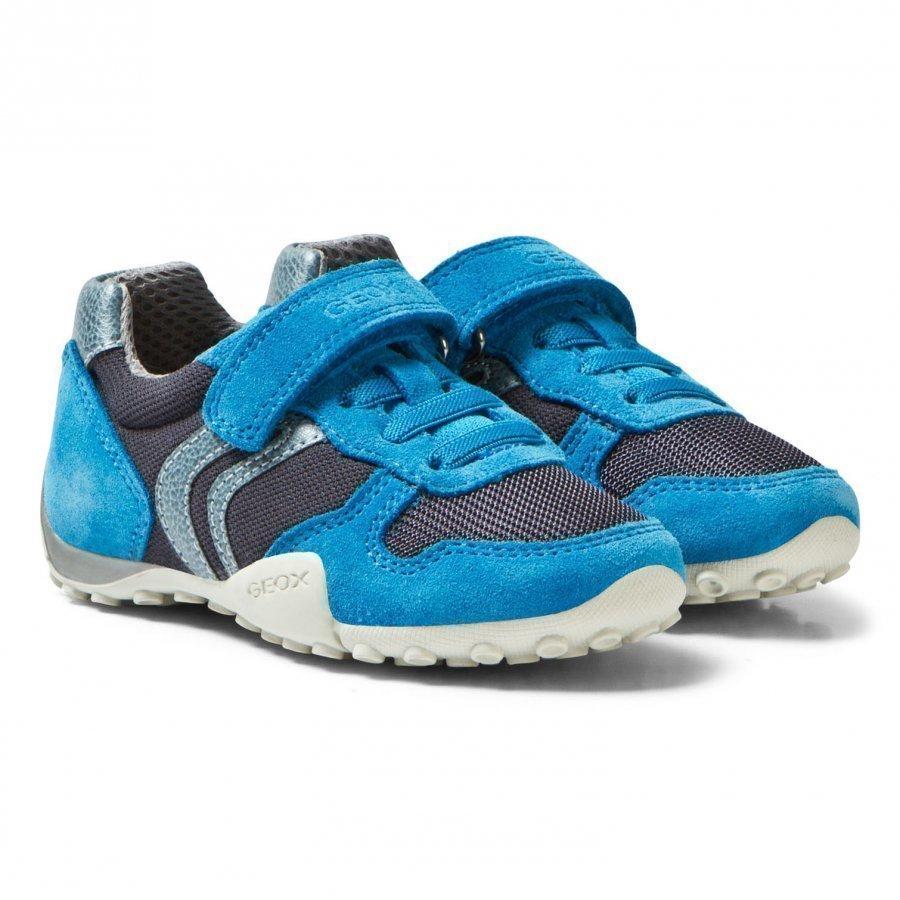 Geox Jr Snake Sneakers Navy & Azure Lenkkarit