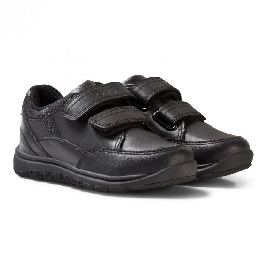 Geox Jr Xunday Sneaker In Black Lenkkarit