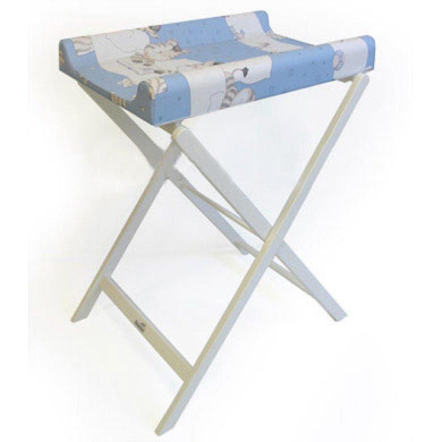 Geuther Trixi Kokoontaitettava Hoitopöytä Valkoinen Kuvio 097 4817