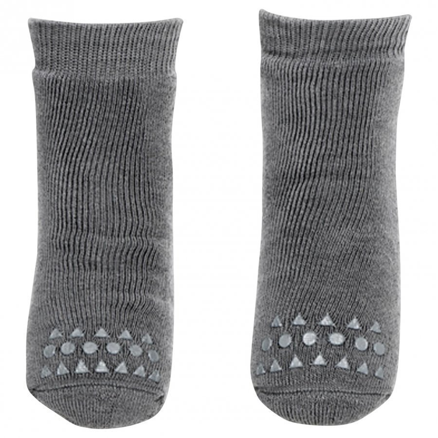 Gobabygo Non-Slip Socks Grey Sukat