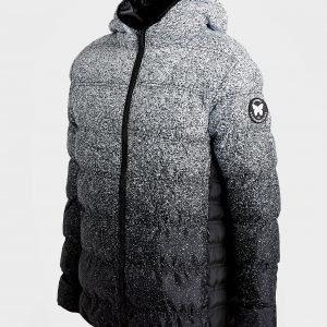 Good For Nothing Fade Speckle Padded Jacket Musta