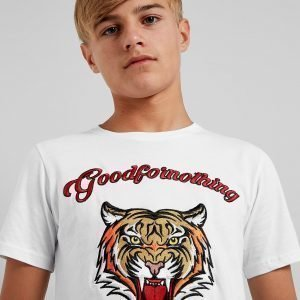 Good For Nothing Rage T-Shirt Valkoinen