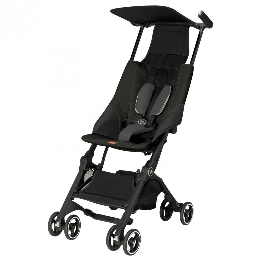 Goodbaby Gb Pockit Monument Black Sateenvarjorattaat