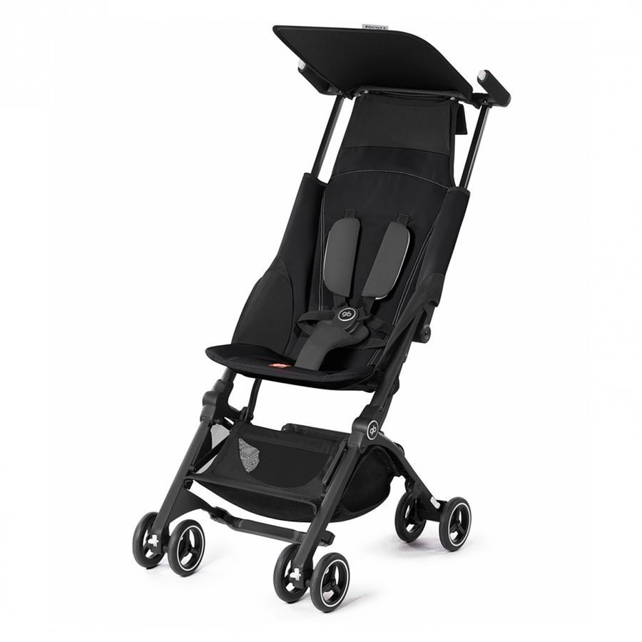 Goodbaby Pockit+ Monument Black 2017 Matkarattaat