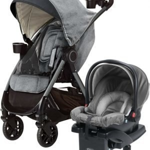 Graco Travel system Rattaat + Turvakaukalo Fast Action DLX