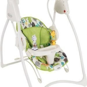 Graco Vauvakeinu Swing & Bounce Bear Trail