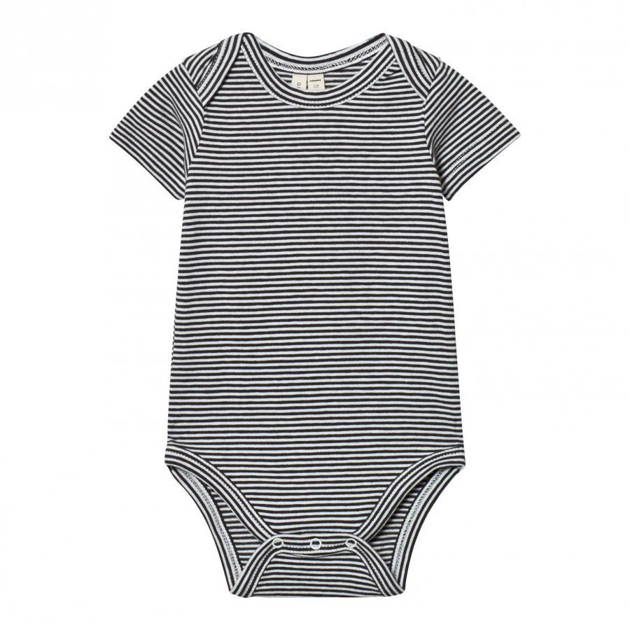 Gray Label Baby Body Nearly Black/Off White Stripes Body