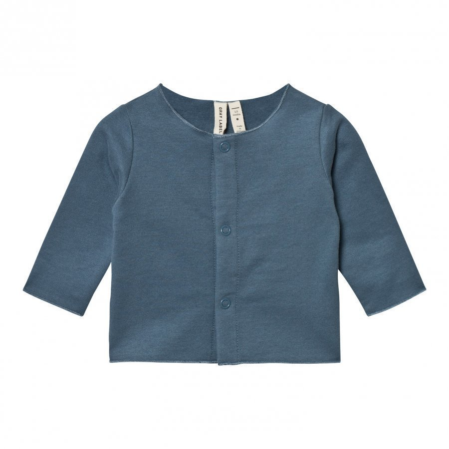 Gray Label Baby Cardigan Denim Neuletakki