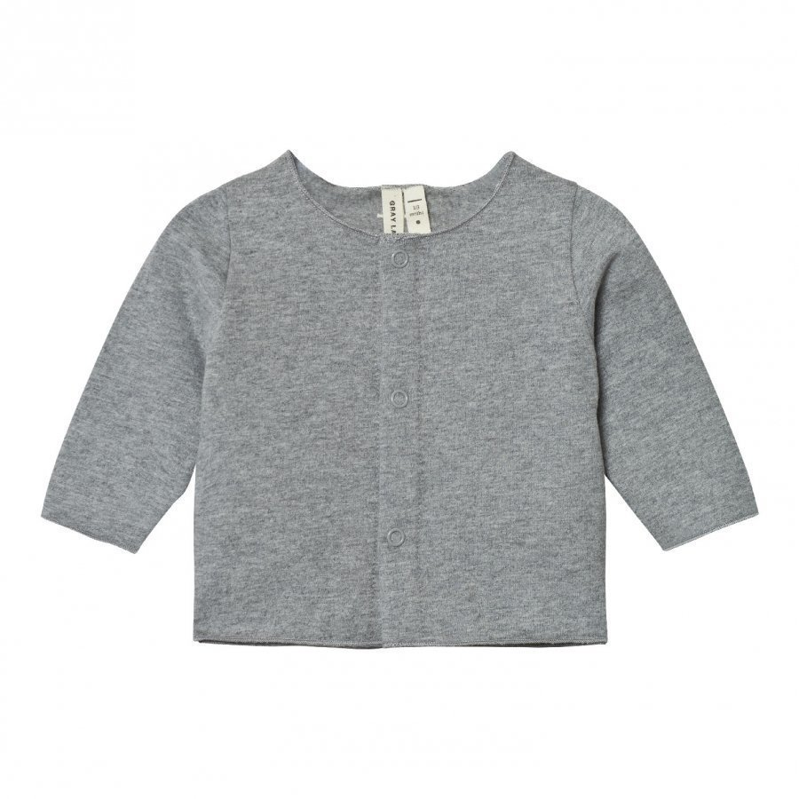 Gray Label Baby Cardigan Grey Melange Neuletakki