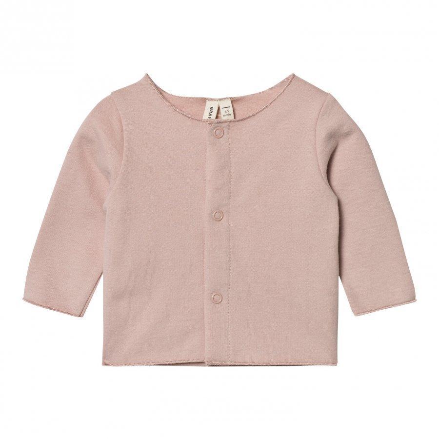 Gray Label Baby Cardigan Vintage Pink Neuletakki