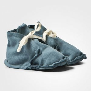 Gray Label Baby Raw Edged Booties Denim Vauvan Tossut