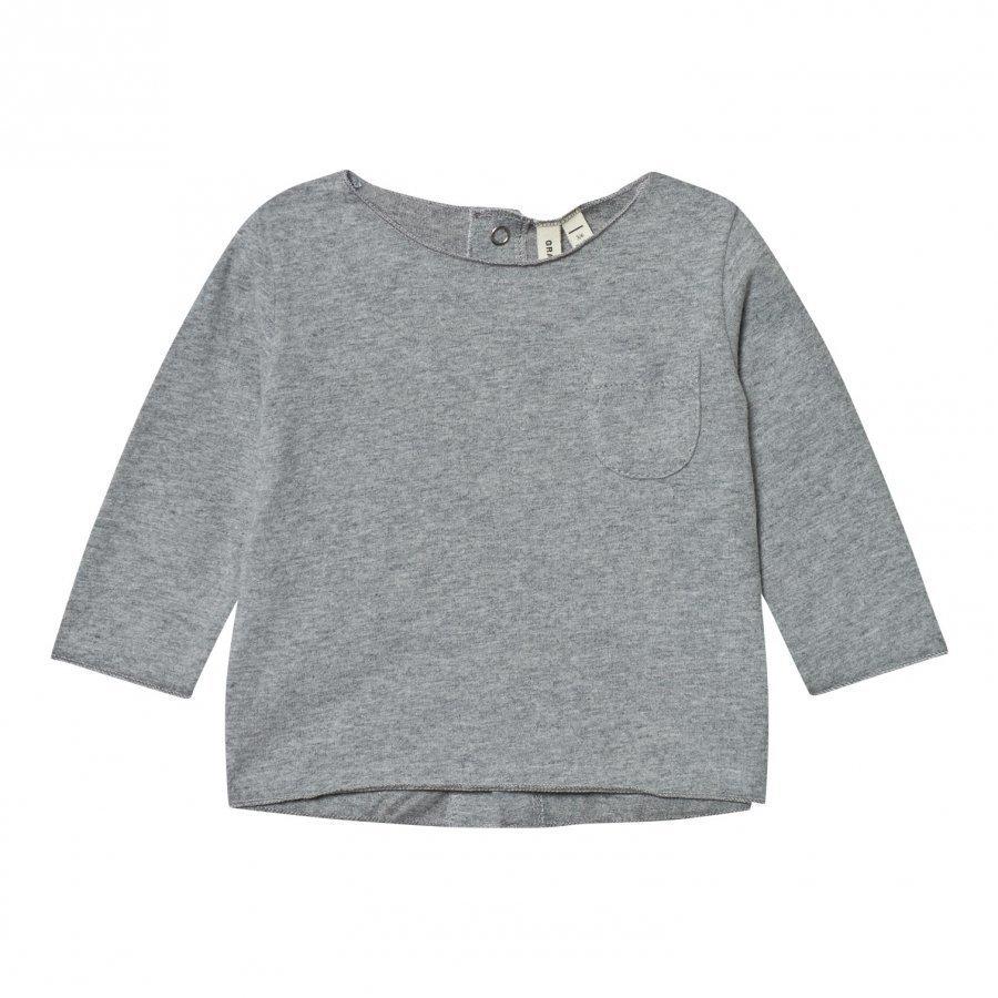 Gray Label Baby Tee Grey Melange T-Paita