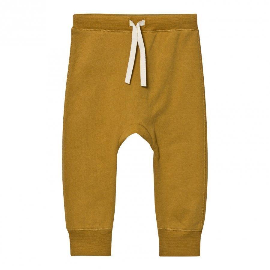 Gray Label Baggy Pant Seamless Mustard Verryttelyhousut