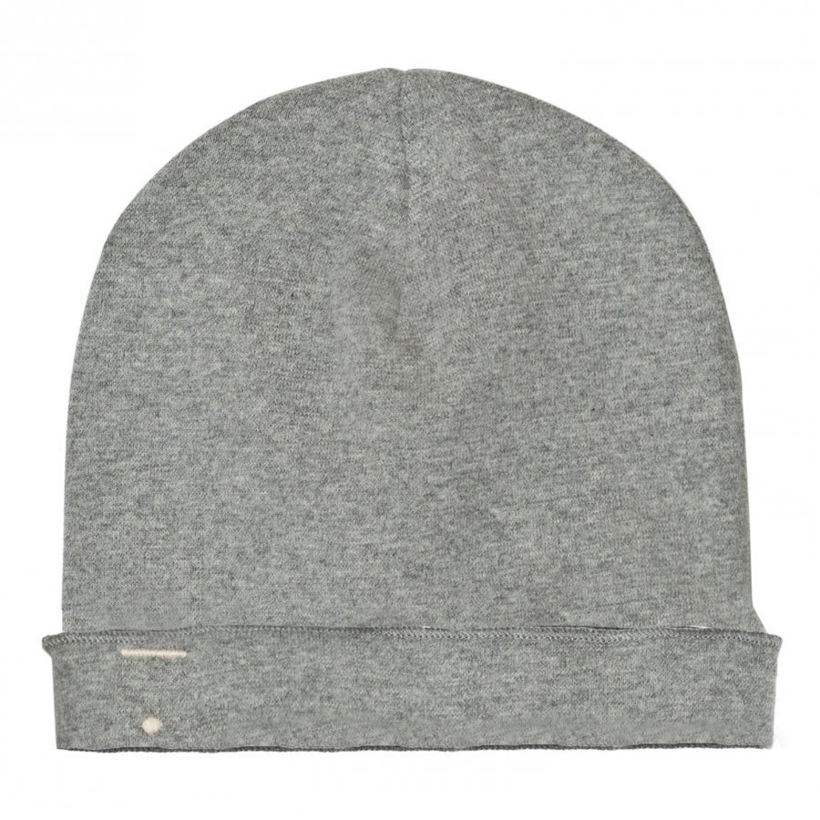 Gray Label Beanie Grey Melange Pipo