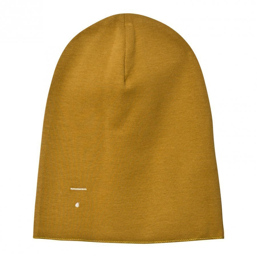 Gray Label Beanie Mustard Pipo