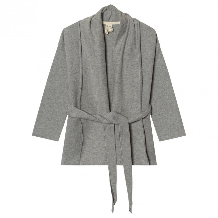 Gray Label Chunky Cardigan Grey Melange Neuletakki