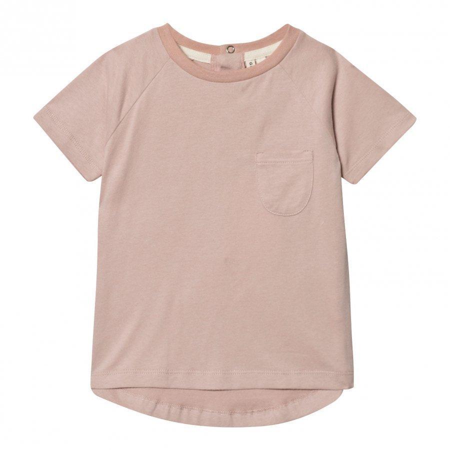 Gray Label Classic Crewneck Tee Vintage Pink T-Paita