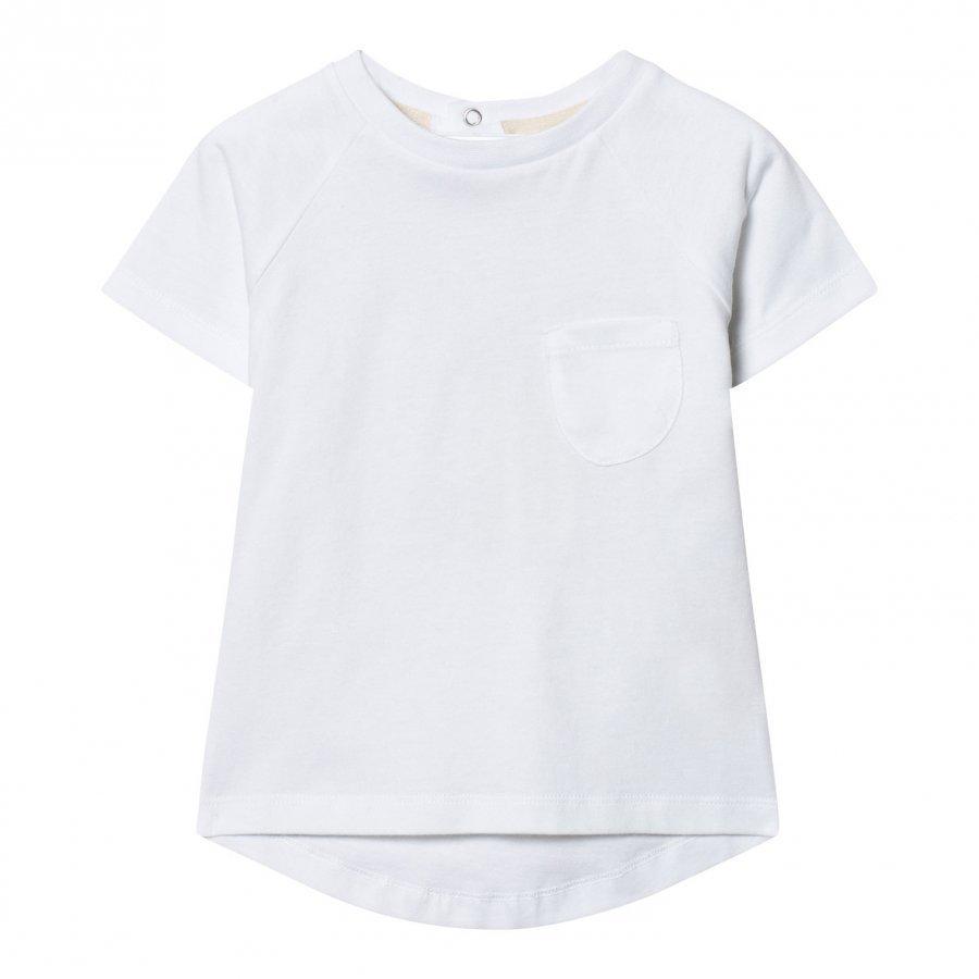 Gray Label Classic Crewneck Tee White T-Paita