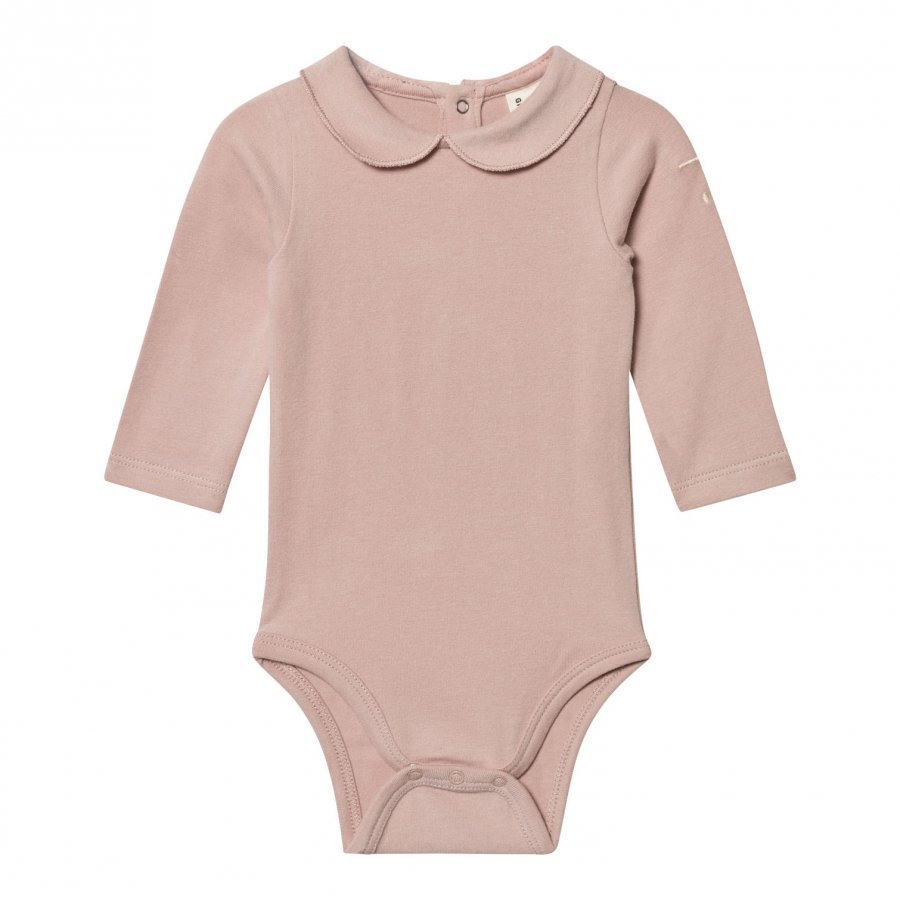 Gray Label Collared Baby Body Vintage Pink Body