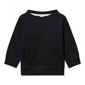 Gray Label Crewneck Sweater Nearly Black Oloasun Paita
