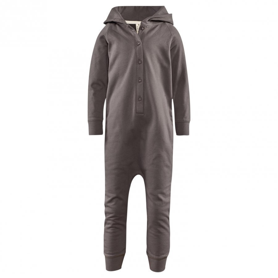 Gray Label Hooded Jumpsuit Dark Grey Potkupuku