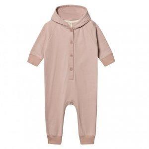 Gray Label Hooded Jumpsuit Vintage Pink Kokopuku