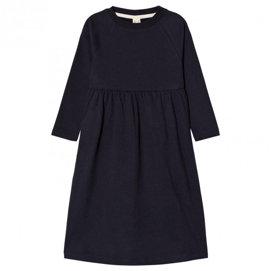 Gray Label Long Sleeve Long Dress Night Blue Mekko