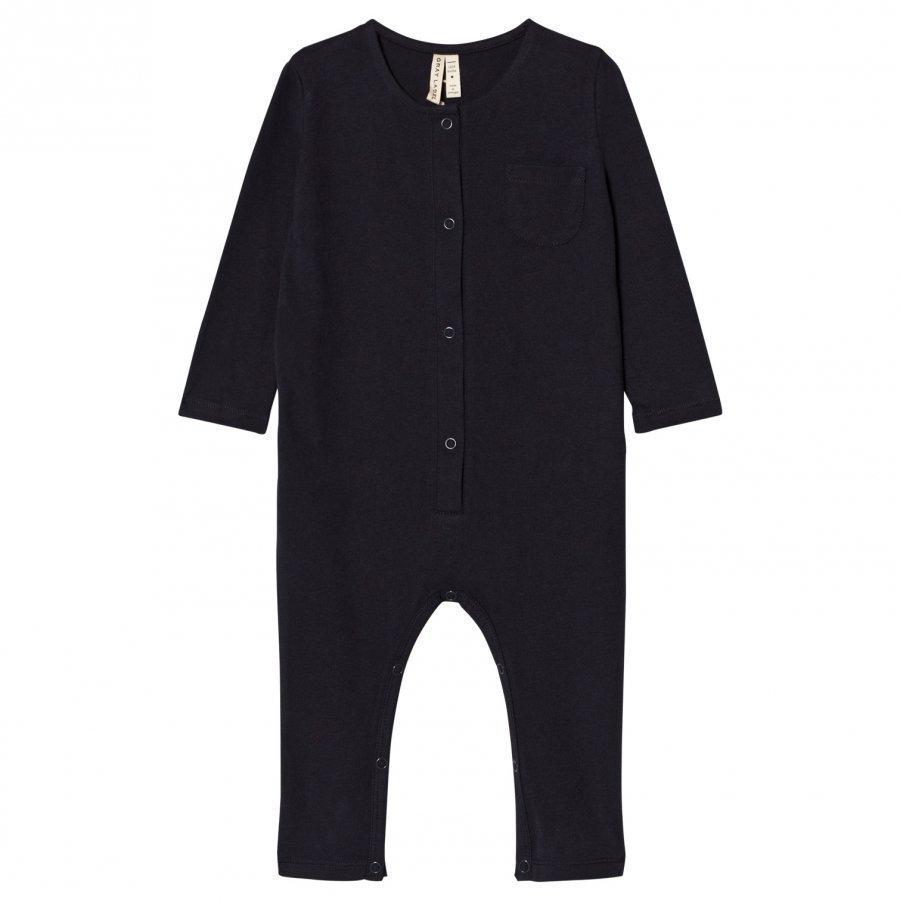 Gray Label Long Sleeve Playsuit Night Blue Potkupuku