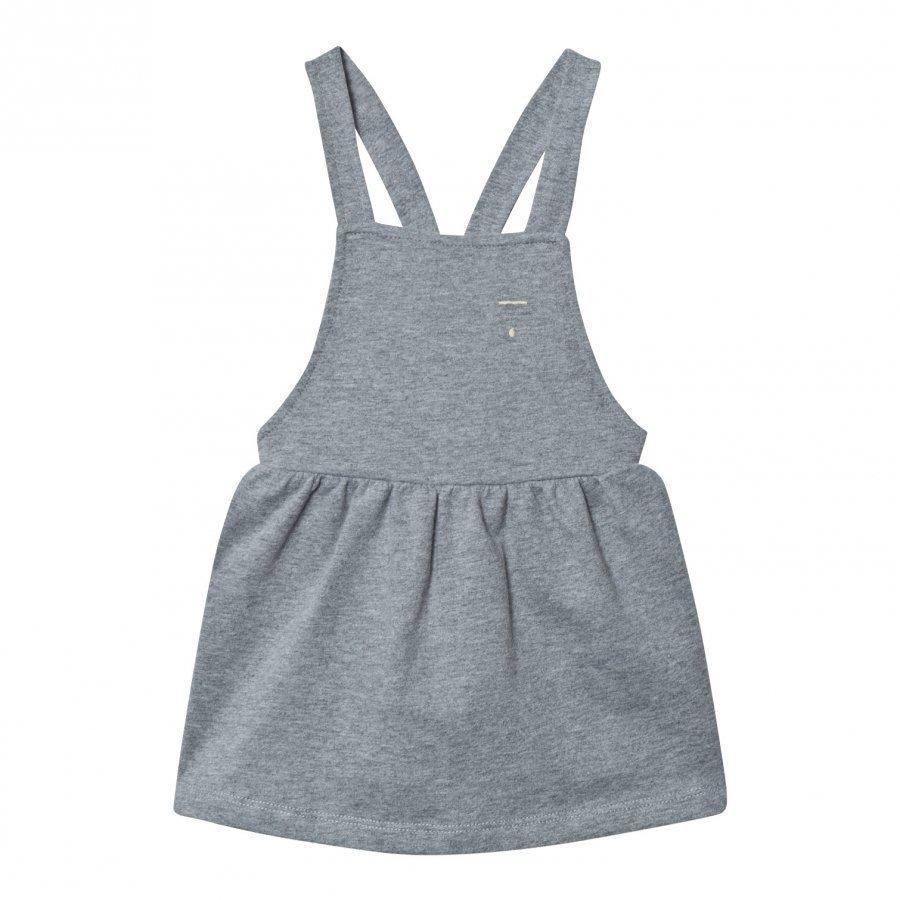 Gray Label Pinafore Dress Grey Melange Mekko