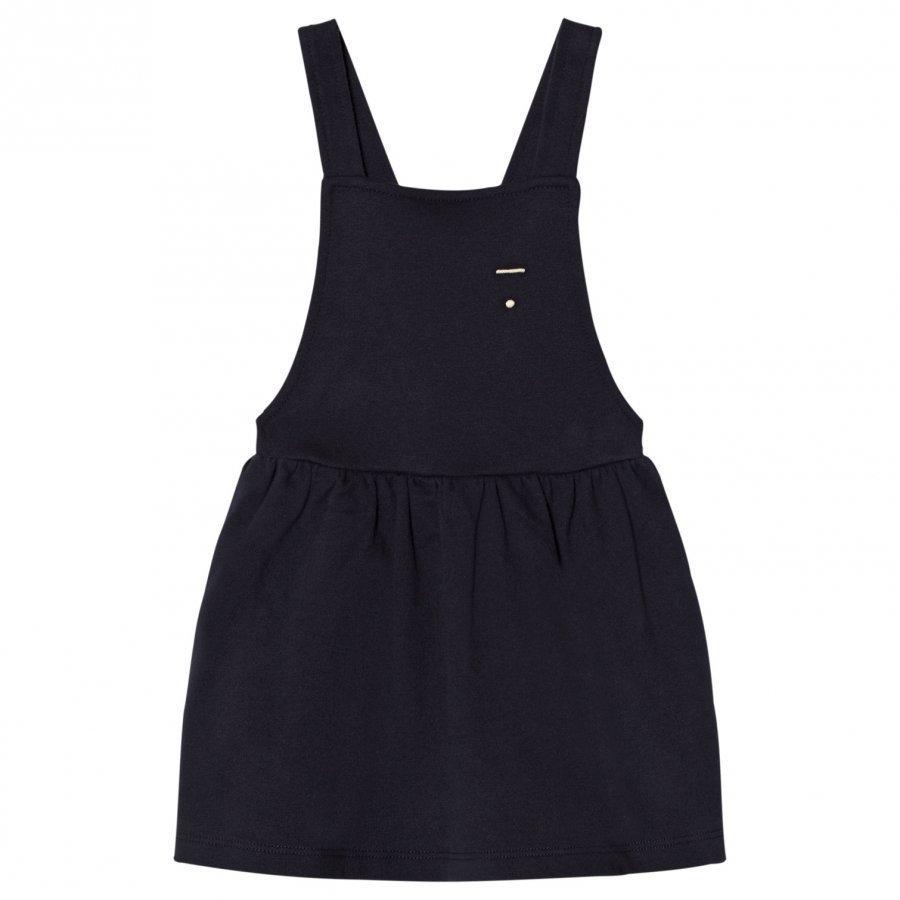 Gray Label Pinafore Dress Night Blue Mekko