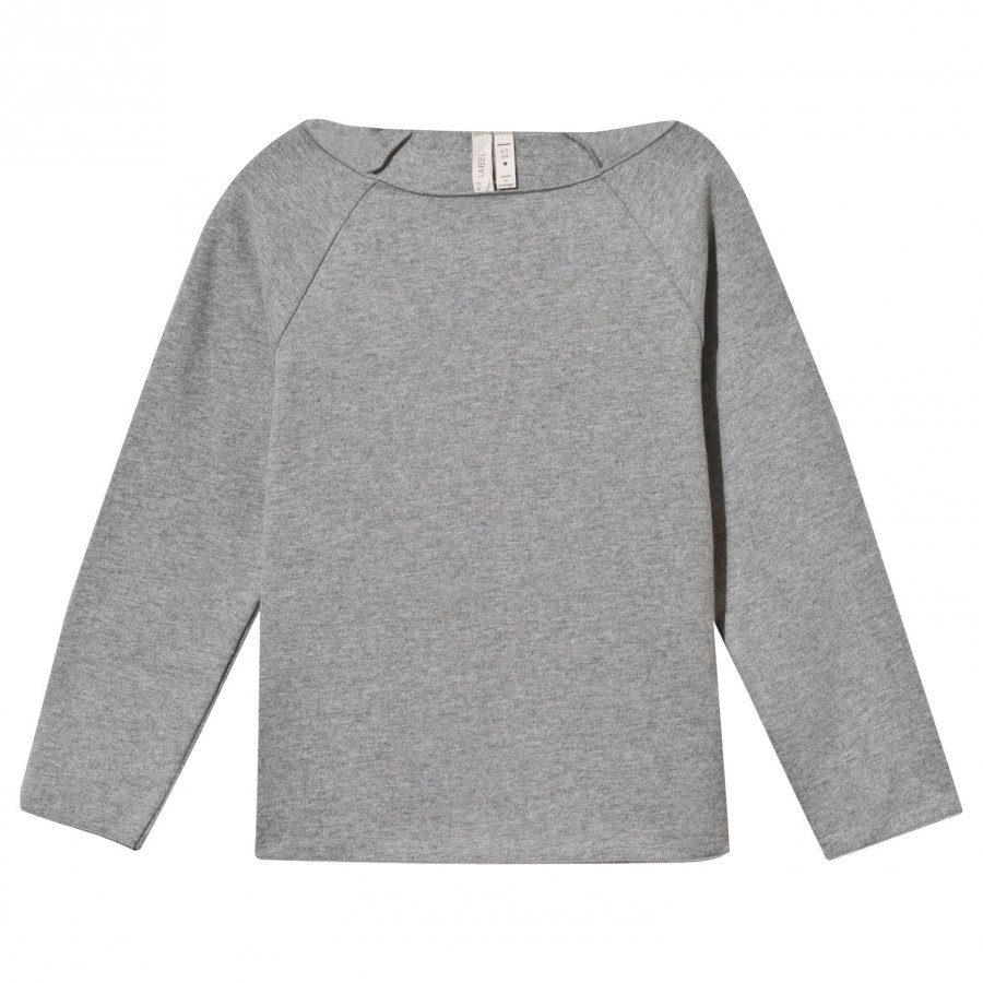 Gray Label Ribless Sweater Grey Melange Oloasun Paita