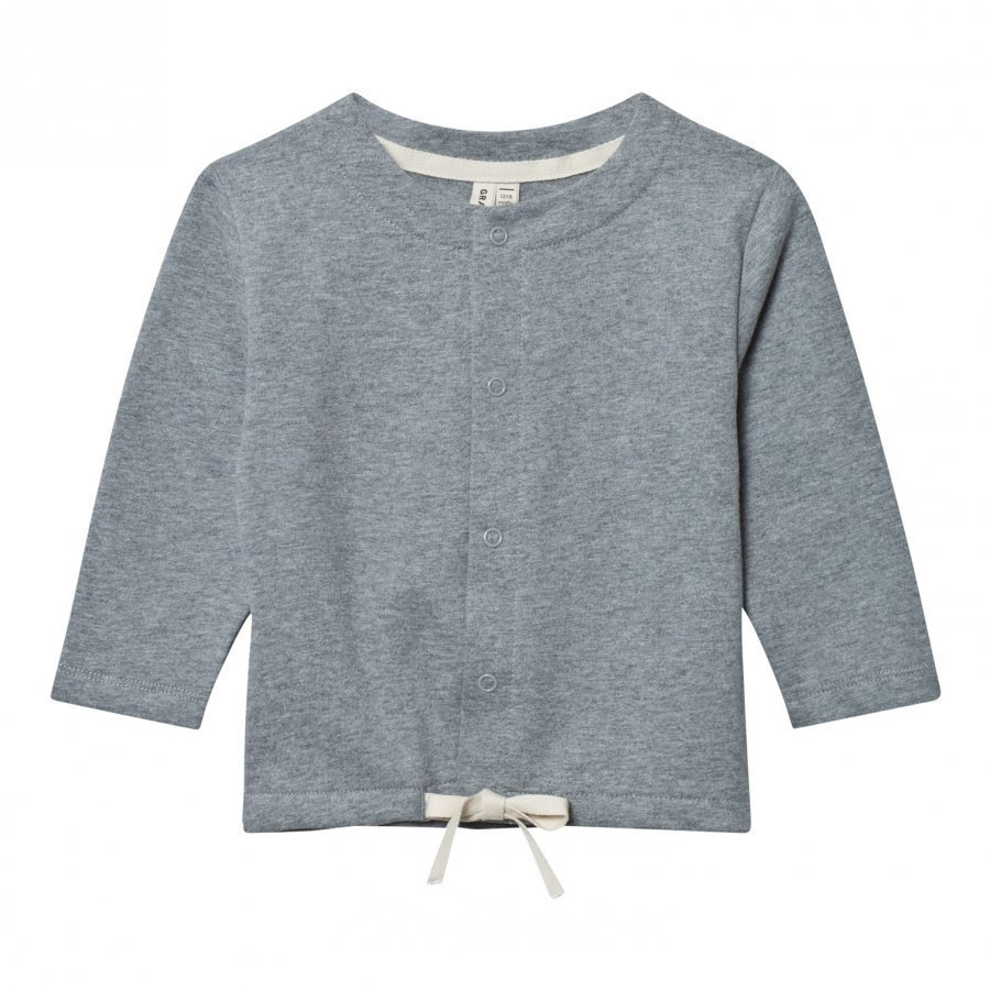 Gray Label Summer Jacket Cardigan Grey Melange Neuletakki