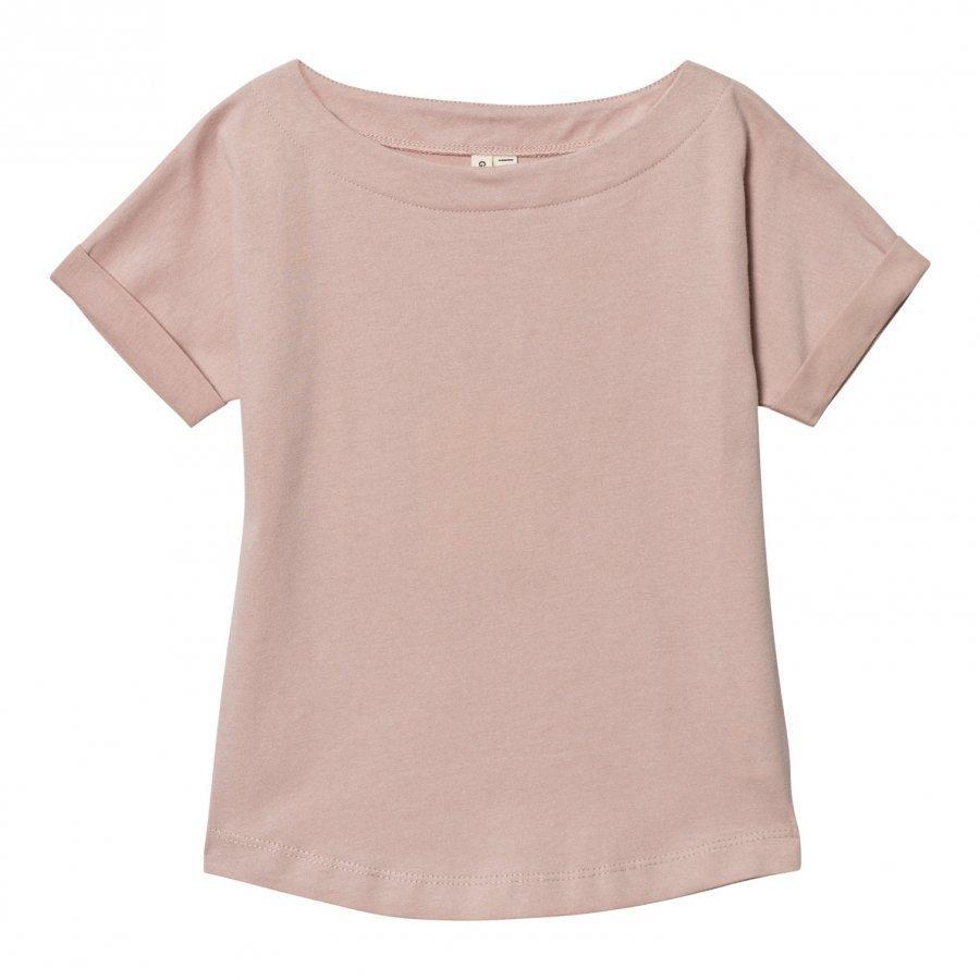 Gray Label Summer Wide Neck Tee Vintage Pink T-Paita
