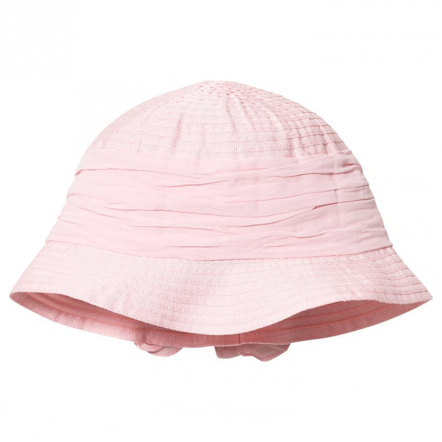 Grevi Pink Sun Hat With Bow Aurinkohattu