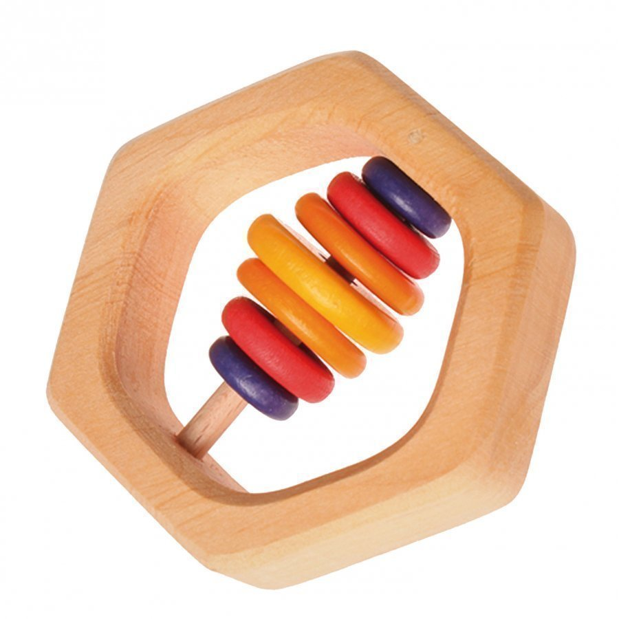 Grimms Grasping Toy Hexagonal Helistin