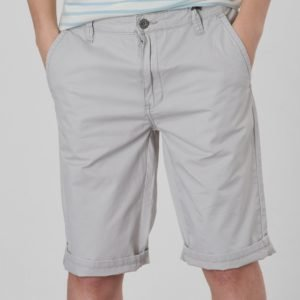 Grunt Chino Twill Shorts Shortsit Harmaa