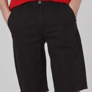Grunt Chino Twill Shorts Shortsit Musta