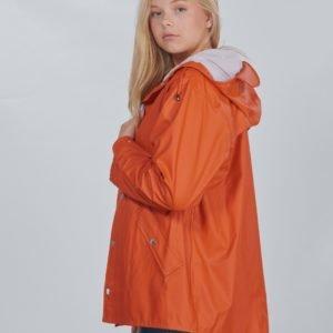 Grunt Drop Jacket Uni Sadetakki Oranssi