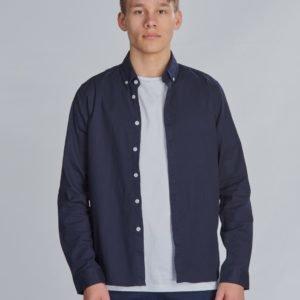 Grunt Koby Shirt Kauluspaita Sininen