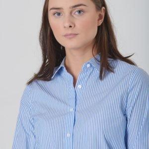 Grunt Lutux Shirt Kauluspaita Sininen